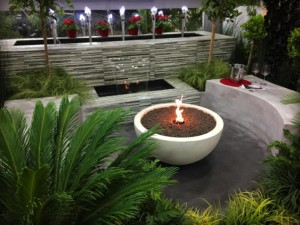 gas fire pit design