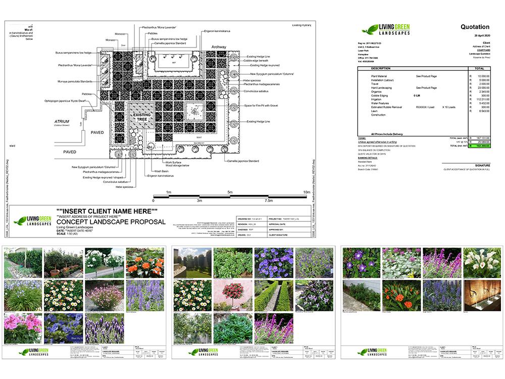 Living Green Landscapes Process Step 3
